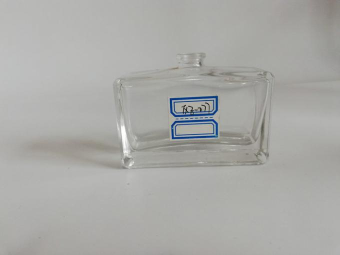 Square Refillable Perfume Bottle / Color Coating Perfume Spray Bottle