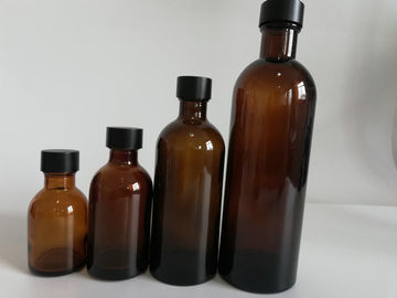 China Multi - Color Cosmetic Glass Bottles For Eye Cream And Facial Cream supplier