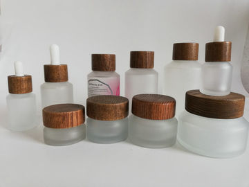 China Oblique Shoulder Makeup Sample Containers / 4 Oz Cosmetic Containers distributor