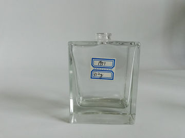China Beautiful Glass Perfume Spray Bottles , Custom Refillable Cologne Bottle distributor