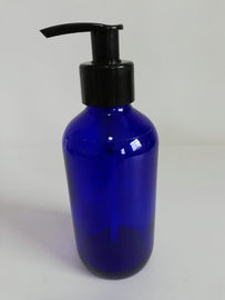 Refillable 8 Oz Glass Lotion Bottles With Pump Dispenser Color Optional